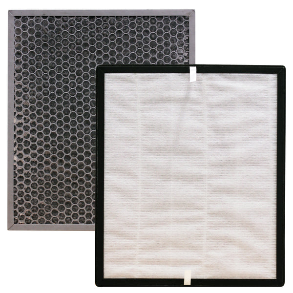 MaximalPower Replacement HEPA Filter & Hard Carbon Pre-Filter for Levoit PUR131 Air Purifier