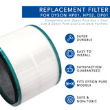 Replacement Filter for Dyson HP1 HP02 DP01 Pure Hot + Cool Link and Dyson Pure Cool Link Desk Air Purifier