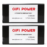MaximalPower Replacement Battery for Parrot Mini Drone Rolling Spider Mambo Airborne Cargo