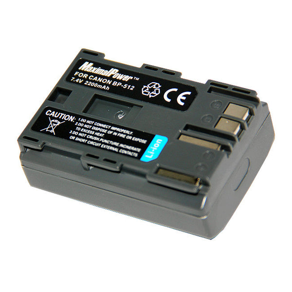 Replacement Camera Battery for Canon BP-512