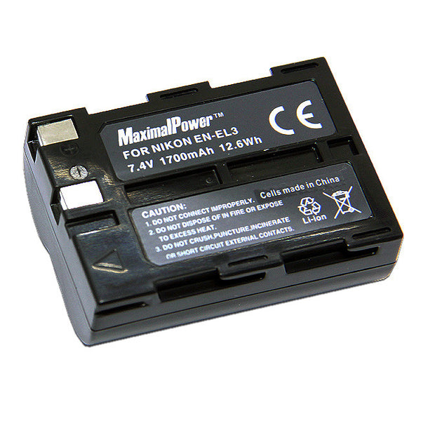 Camera Battery For Nikon EN-EL3 EN-EL3A
