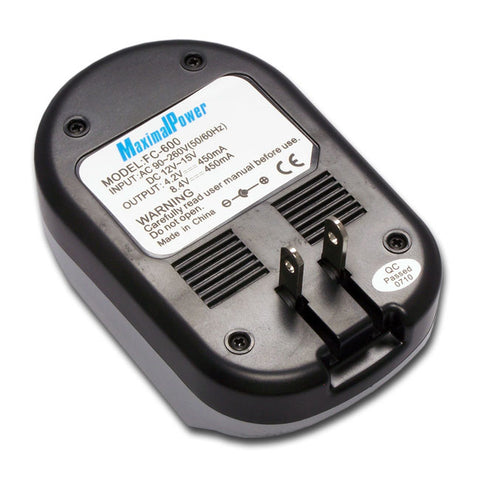 MaximalPower™ FC600 Charger for Sanyo DBL-40 Battery