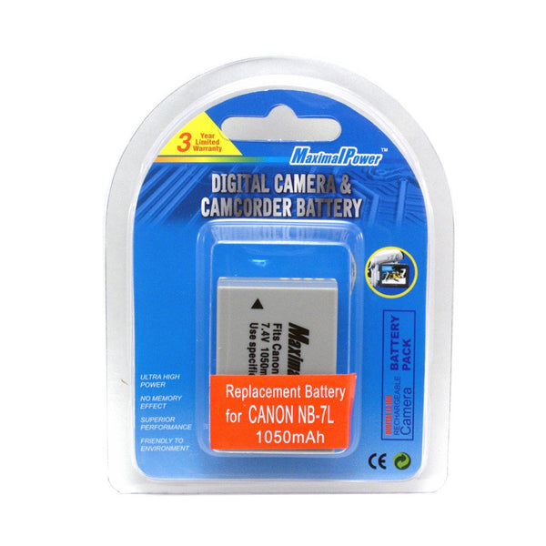 Camera Battery For CANON NB-7L