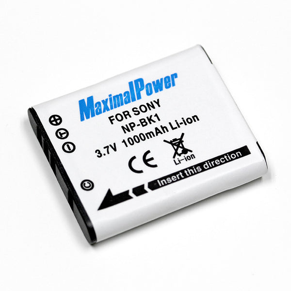 MaximalPower™ Replacement Batteries for SONY NP-BK1 Camera Batteries
