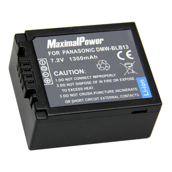 Camera Battery for PANASONIC DMW-BLB13