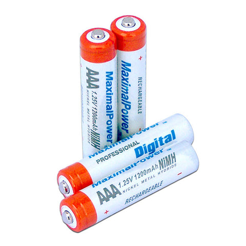 MaximalPower AAA Rechargeable Battery