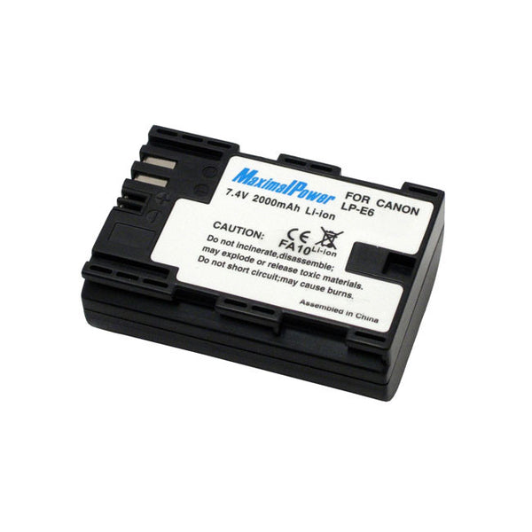 Camera Battery For CANON LP-E6 LPE6