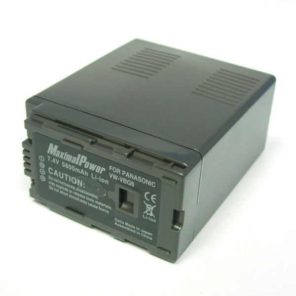 Camcorder Battery for PANASONIC VW-VBG6