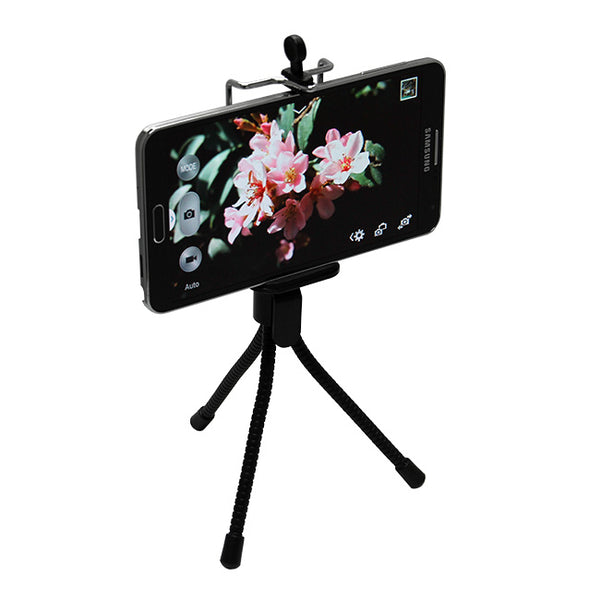 Mini Tripod + Mount for iPhone, Samsung & Other Smartphones