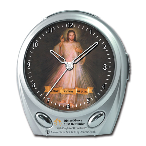 DIVINE MERCY Talking Atomic Alarm Clock