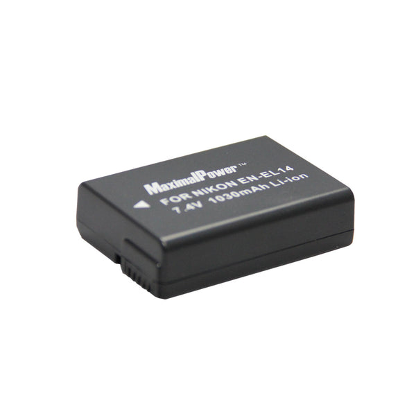 Camera Battery For Nikon EN-EL14 - FULLY DECODED