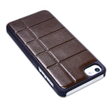 APPLE iPhone 5 / 5s Brown Leather Hard Case