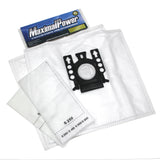 MaximalPower Replacement Synthetic Dust Bags + Filters For MIELE FJM Vacuum Cleaner