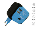 New MaximalPower Universal Travel Adapter Power Outlet 150+ Countries