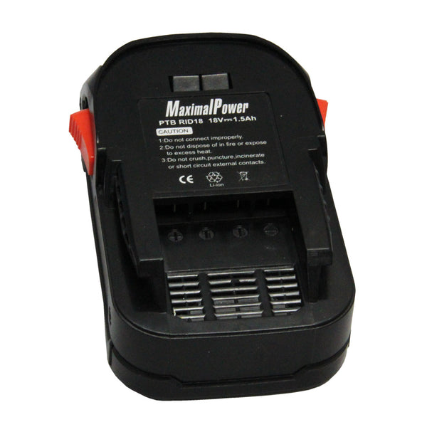Power Tool Battery For RIDGID 18V