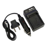 MaximalPower Battery Charger for CANON LP-E5EOS 450D 500D Rebel XSi Wall with Car Charger & USB