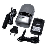 UNIVERSAL Premium Rapid Travel Battery Charger for AA, AAA & Rechargeable Camera Batteries