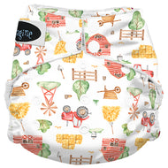 Imagine One Size Snap Stay Dry All in One Diaper - Little Farmer