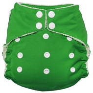 Imagine One Size Snap Bamboo All in One Diaper - Emerald