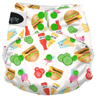 Imagine One Size Snap Stay Dry All in One Diaper - Dine n' Dash