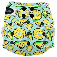 Imagine One Size Snap Stay Dry All in One Diaper - Pineapple Pop