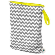 Planet Wise Large Performance Wet Bag - Gray Chevron