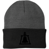 Embroidered Raincross Knit Cap