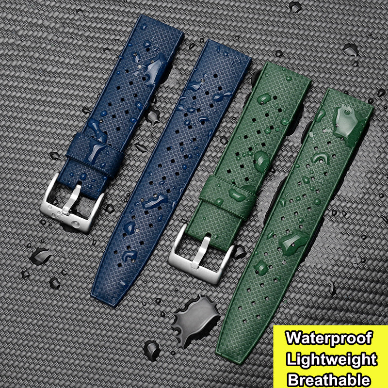 Rubber Watch Band, (Dive Watch Strap)