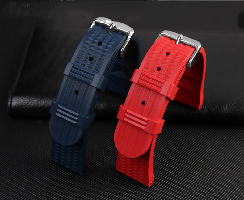 wallfe rubber watch strap