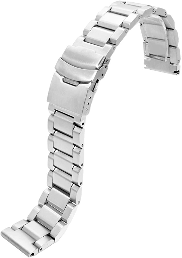 22mm Stainless Steel Watch Straps