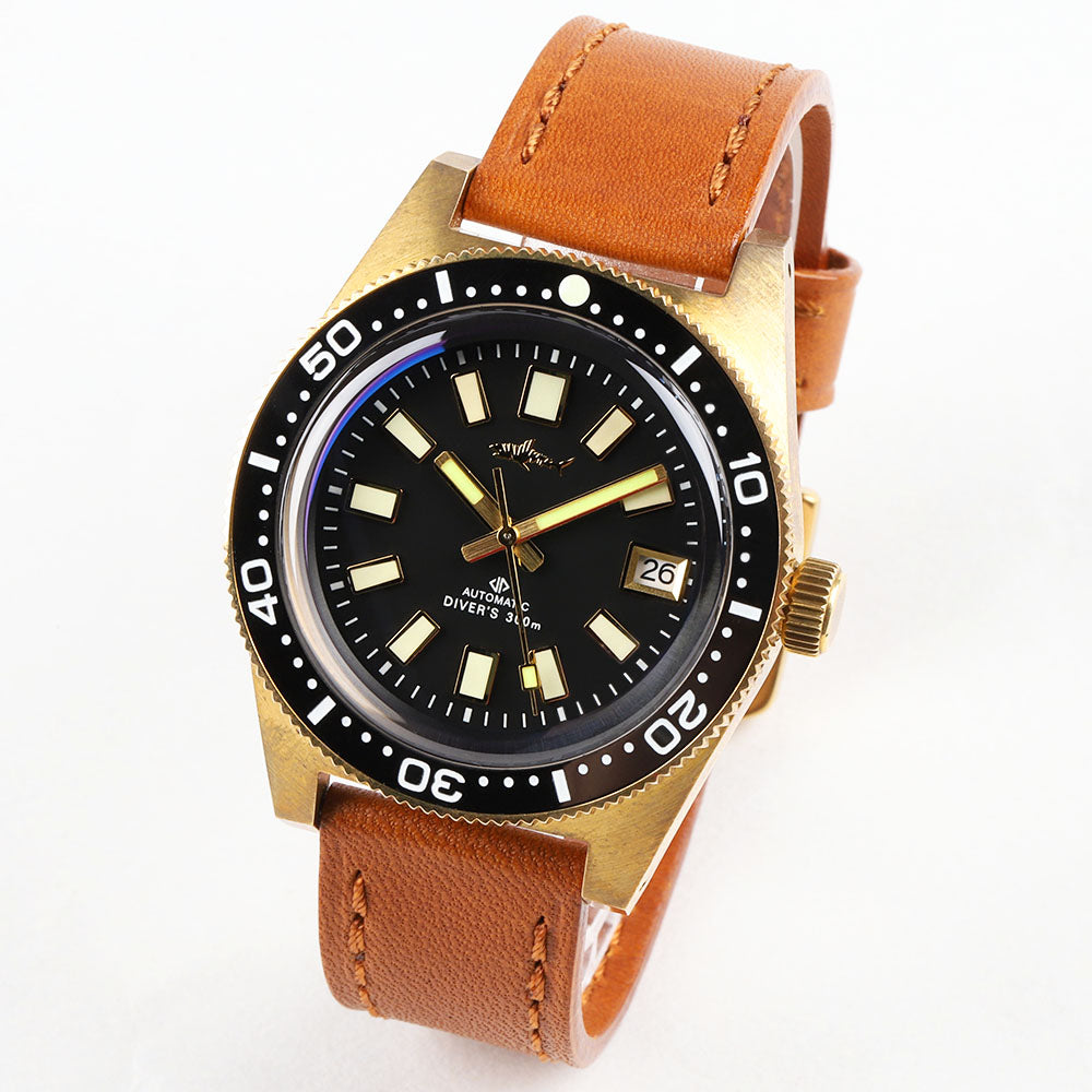 Heimdallr Sharkey 62MAS Bronze Mechanical Watch