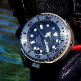 Heimdallr Sharkey 1KM Tuna Can Diver Watch