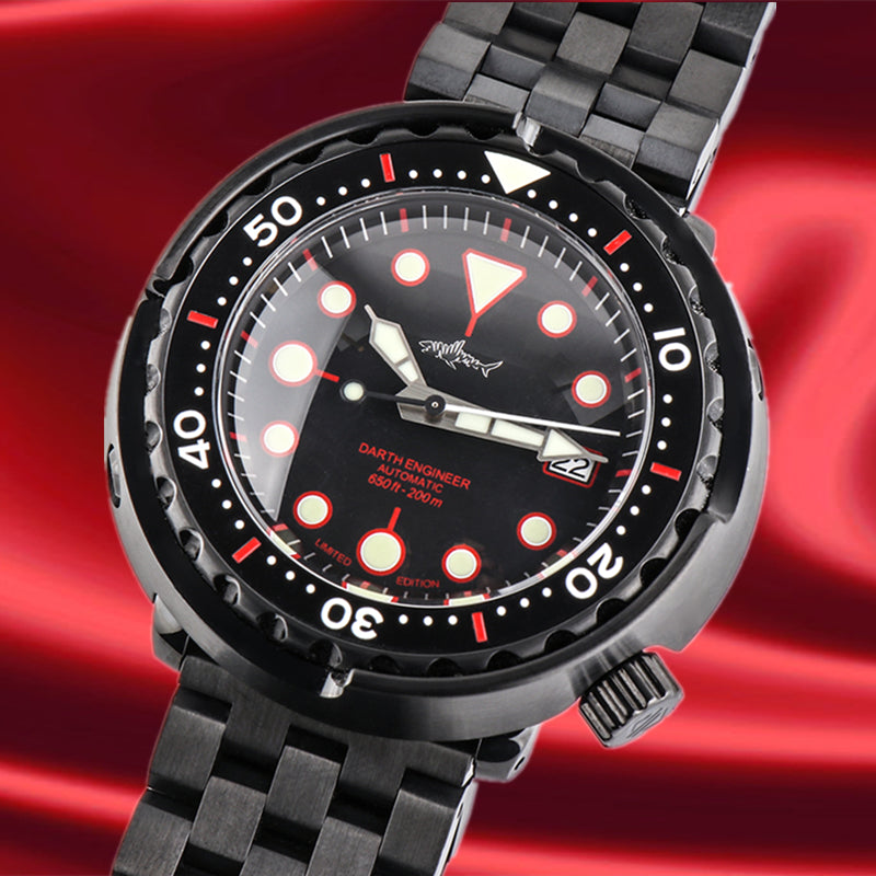 Heimdallr Darth Engineer Tuna Diver Watch - Limited Edition