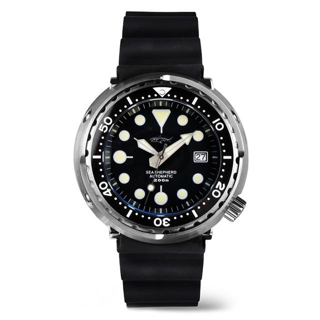 Heimdallr Sea Shepherd Colorful Tuna Can Dive Watch