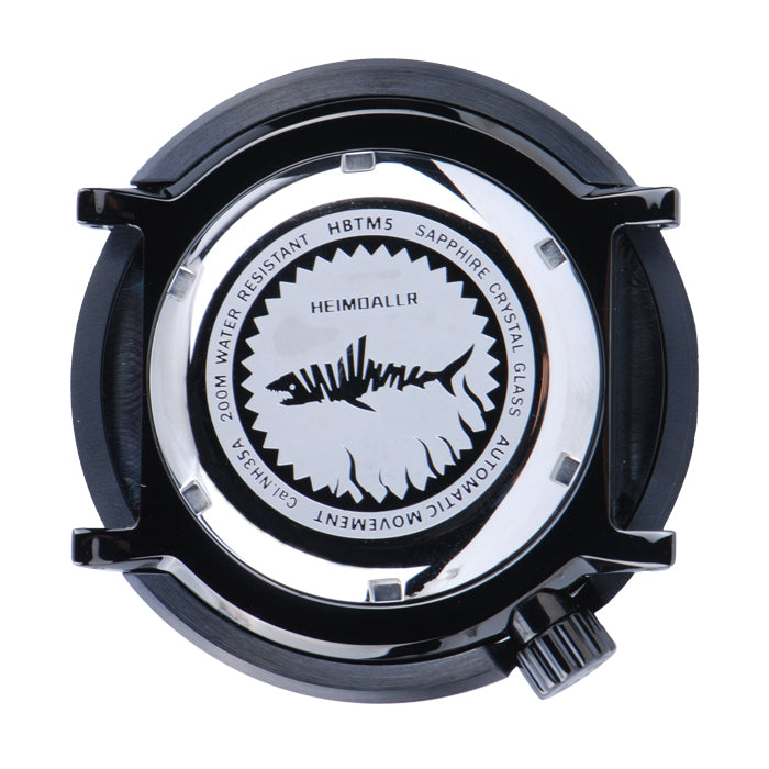 Black PVD Tuna Watch Case SBBN03, SBBN015
