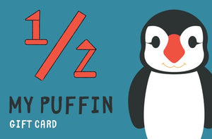 My Puffin Play Couch ½ gift card