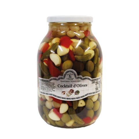 Cocktail d'olives 240g