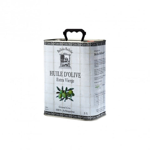 Huile d'olive 100% Arbequina - 3L