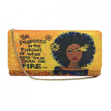 Load image into Gallery viewer, Soul On Fire Clutch Bag