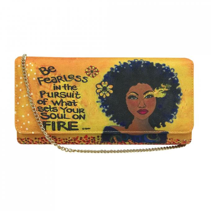 Soul On Fire Clutch Bag