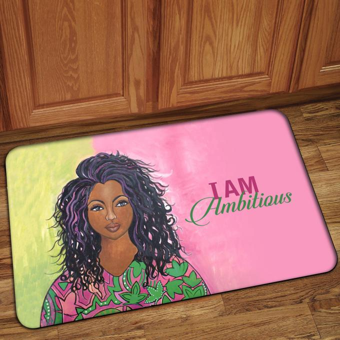 I Am Ambitious Interior Floor Mat