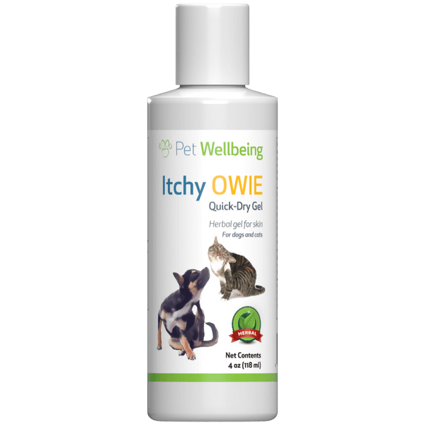 Itchy Owie Quick-Dry Gel for Dog Skin Problems