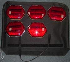 Flashing Magnetic Lights. LED Flares