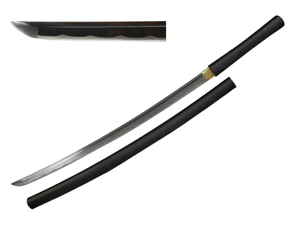 "41""  Hand Forged Shira-Saya"
