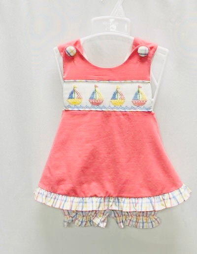 Sail away bloomer set