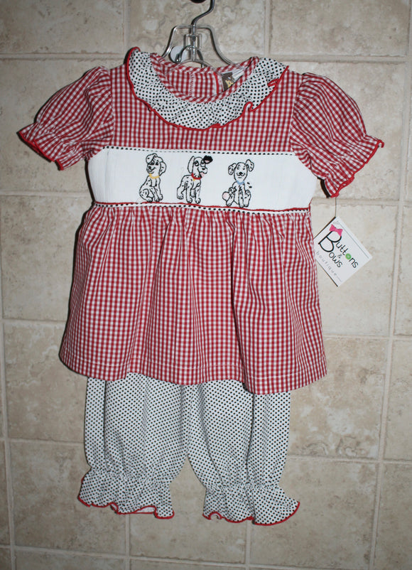 Dalmation Bloomer Set