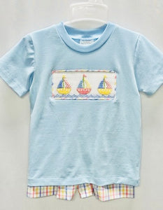 Sail away boys short set