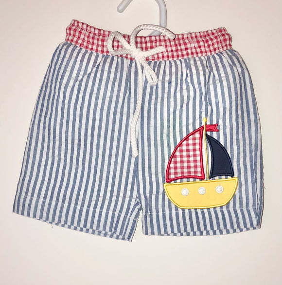 Sailboat boys swimsuit