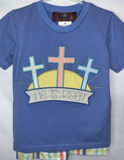 He is Risen Boys short set