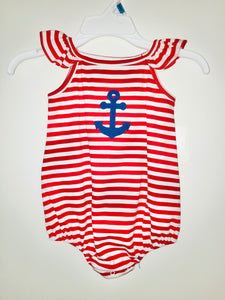 Red Stripe Anchor Bubble